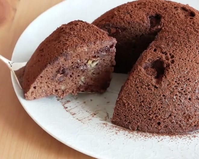 三分钟无蛋微波炉巧克力蛋糕[搬运]的做法