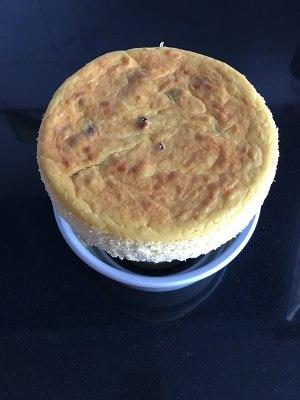 南瓜蔓越莓奶酪蛋糕的做法 步骤13