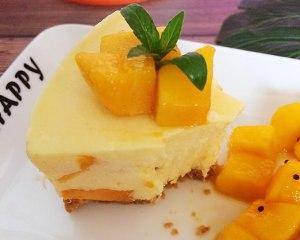 芒果芝士慕斯蛋糕的做法 步骤15