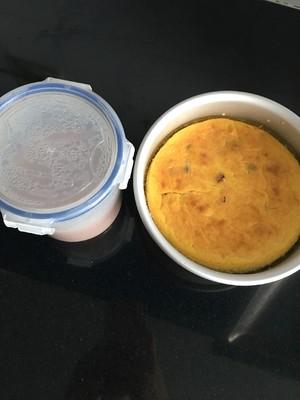 南瓜蔓越莓奶酪蛋糕的做法 步骤14