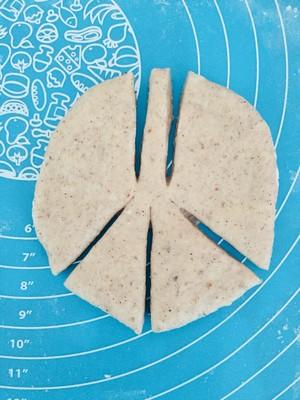 #治愈系福蝶面包手法#的做法 步骤2