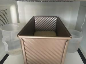 浓郁奶香土司(和面机版)的做法 步骤8