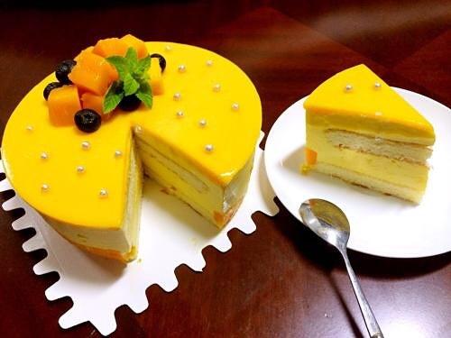 芒果慕斯蛋糕的做法