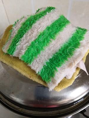 六寸红丝绒戚风蛋糕的做法 步骤9