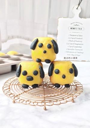小狗面包 制作方法