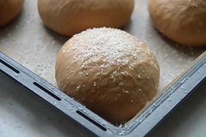 巧克力椰蓉面包(45升烤箱记录)的做法 步骤7