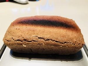黑麦面包迷你烤箱版 减脂必备的做法 步骤4