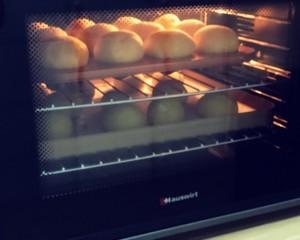 黄桃面包的做法 步骤11