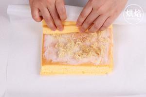 外Q内软的冰皮蛋糕卷,口感超丰富~的做法 步骤10