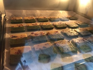 低糖双拼蔓越莓饼干的做法 步骤6