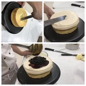 黑糖珍珠爆浆蛋糕的做法 步骤7