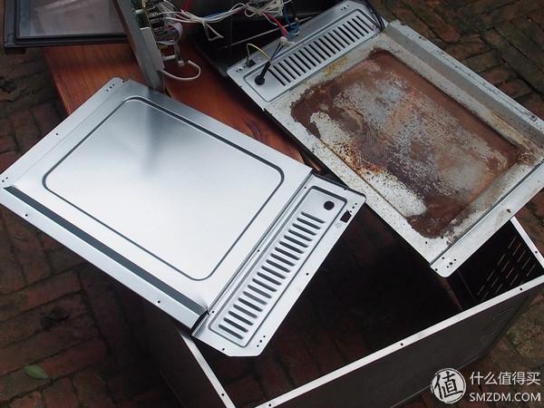 长帝烤箱复活记—拆解换底板记录