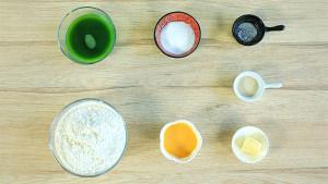 菠菜/牛奶小餐包的做法 步骤1