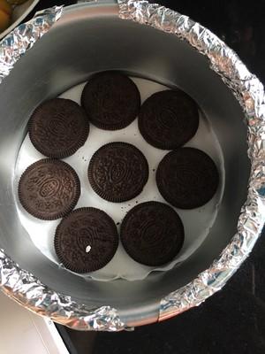 南瓜蔓越莓奶酪蛋糕的做法 步骤5