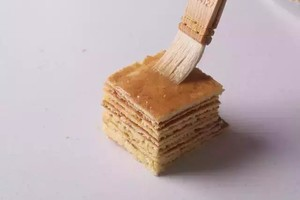 蜂蜜千层蛋糕 制作方法