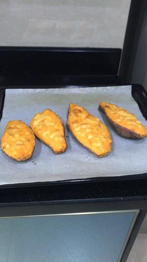 芝士焗番薯的做法 步骤5