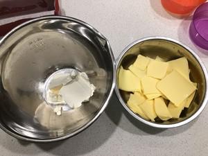 核桃葡萄干奶酪磅蛋糕的做法 步骤4