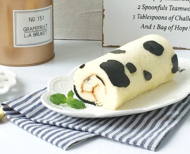 奶牛蛋糕卷的做法