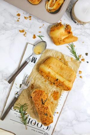 冠利沙拉酱-全麦肉松堡的做法 步骤19