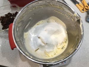 核桃葡萄干奶酪磅蛋糕的做法 步骤11