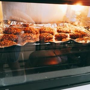 红豆燕麦饼干的做法 步骤6