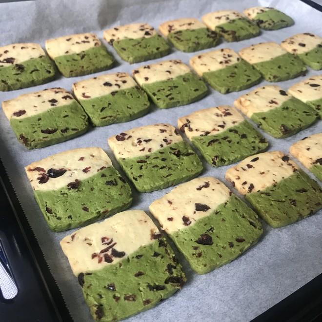 低糖双拼蔓越莓饼干的做法