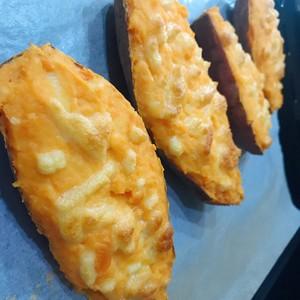 芝士焗番薯的做法 步骤6