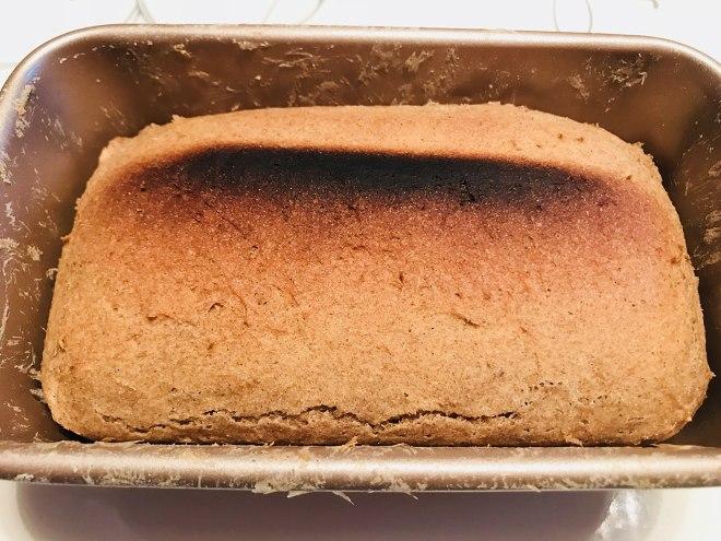 黑麦面包迷你烤箱版 减脂必备的做法