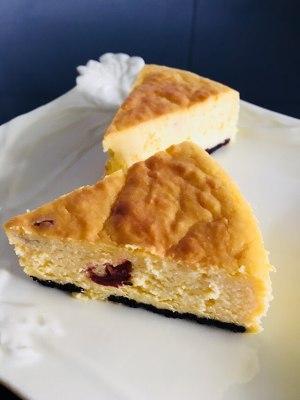 南瓜蔓越莓奶酪蛋糕的做法 步骤19