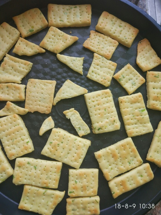 葱香苏打饼的做法