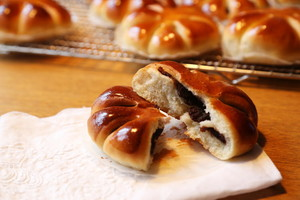 香软可口的花式豆沙面包的做法 步骤7