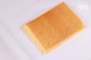 外Q内软的冰皮蛋糕卷,口感超丰富~的做法 步骤9