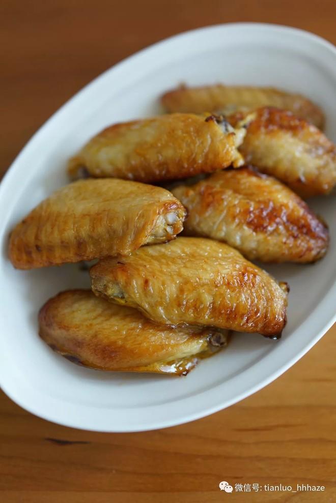 咸蛋黄醪糟烤鸡翅的做法