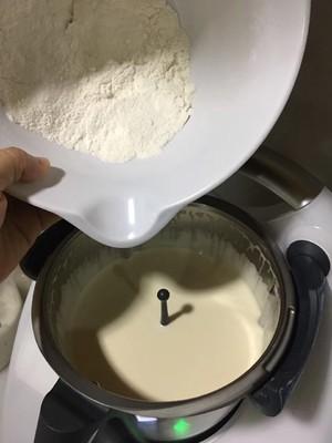 8寸圆模海绵蛋糕的做法 步骤3