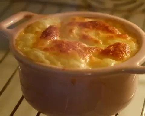 培根芝士焗薯蓉的做法
