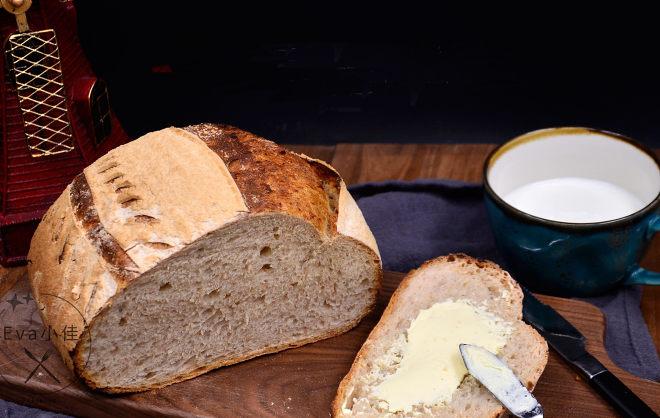 黑麦乡村面包的做法
