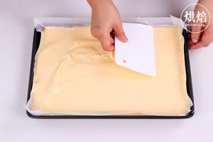 外Q内软的冰皮蛋糕卷,口感超丰富~的做法 步骤7