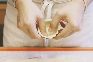 榴莲椰子塔——北鼎烤箱食谱的做法 步骤6