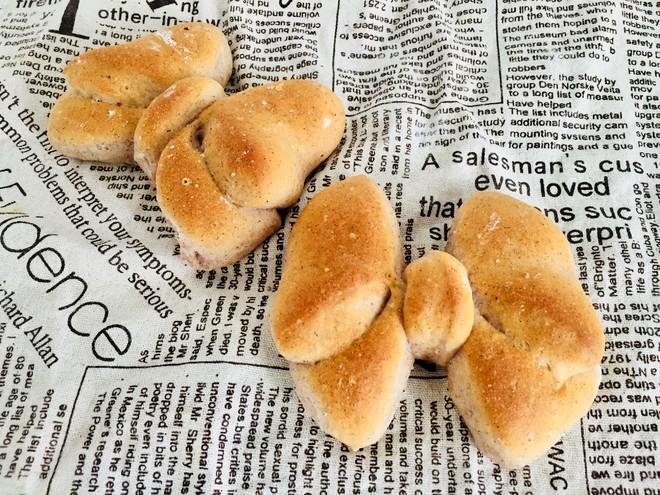 #治愈系福蝶面包手法#的做法