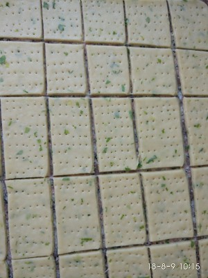 葱香苏打饼的做法 步骤5