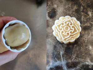 广式月饼-蛋黄莲蓉月饼的做法 步骤9