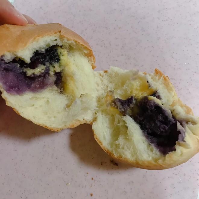 蓝莓奶酪面包  制作方法