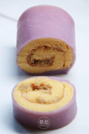 外Q内软的冰皮蛋糕卷,口感超丰富~的做法 步骤20
