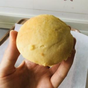 玉米面酸奶烤蛋糕(无油无蛋)的做法 步骤2