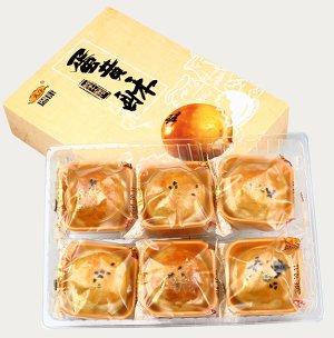 自制网红蛋黄酥的做法 步骤13