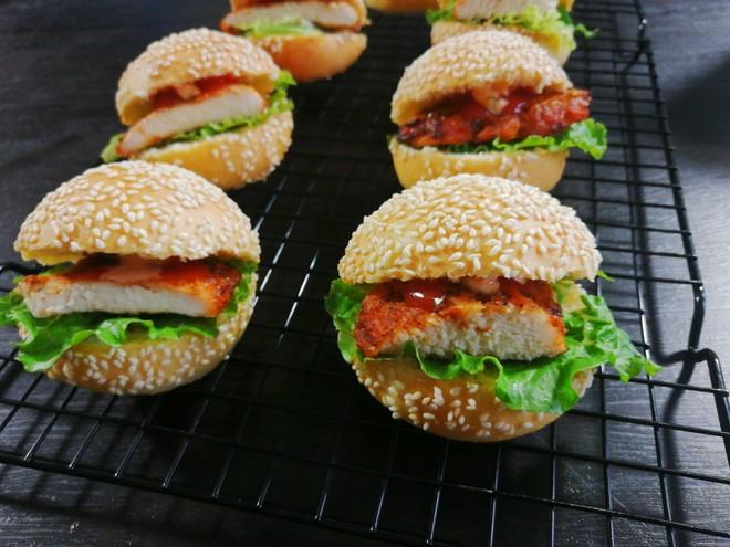 小汉堡包【蒸烤箱版】的做法