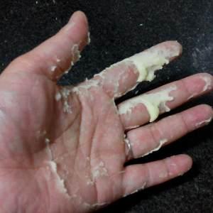 面包十五分钟手套膜及拉丝秘笈(附七岁儿童终极版)的做法 步骤4