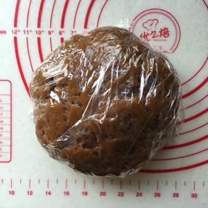 红糖亚麻籽油藜麦月饼的做法 步骤7