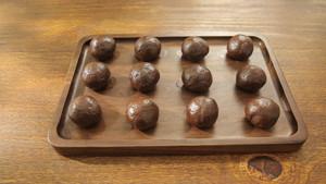 酒心巧克力月饼的做法 步骤6