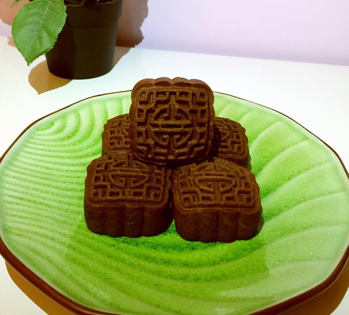 好吃的巧克力月饼的做法
